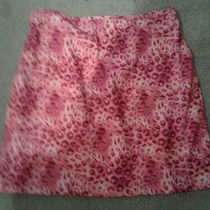 Vintage pink skirt